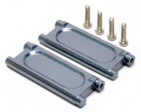 Aluminum gear box brace for savage 21, 25, SS