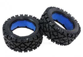 """HPI Baja 5B front """"ALL TERRAIN"""" tire set"""
