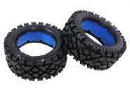 "HPI Baja 5B front ""ALL TERRAIN"" tire set"